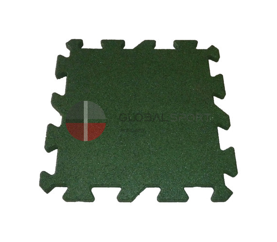 Rubber sport surface in rolls and puzzle tiles 15