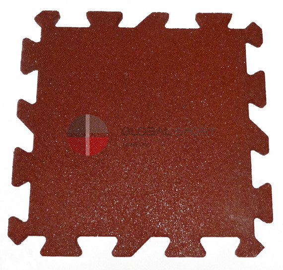 Rubber sport surface in rolls and puzzle tiles 16