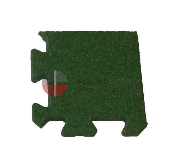 Rubber sport surface in rolls and puzzle tiles 18