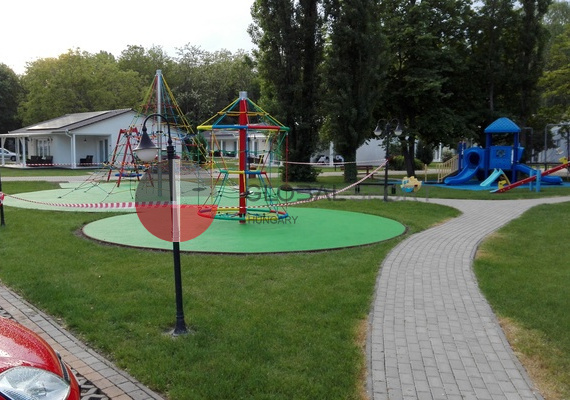 Playground surfaces 5