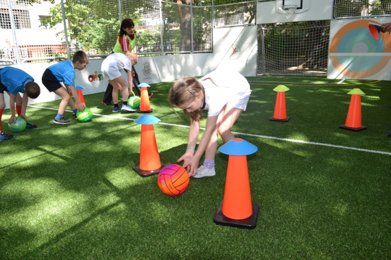 Kindergarten-Sport Pitch